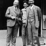 Tomas Bata and son and the banker Jaroslav Preiss