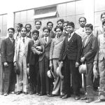 Baťa School of Work – a group of Indians, 1933