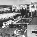 View of the school district, 1938