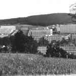 Modern centre of Zlín – built-up areas around Work Square, 1936