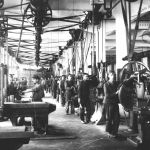 View of an engineering shop, 1924