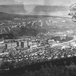 Overall view of Zlín, 1936