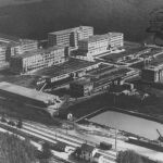 Baťa factory, Hellocourt, France