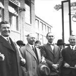 T. Baťa and his fellow-workers celebrating 1 May 1931