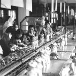 Rubber toys made by the Baťa Works, 1935