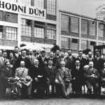 French industrialists visiting Zlín, 1929
