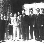 Chinese ambassador in T. Baťa's villa, 1929
