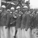 Baťa School of Work – a group of Englishmen, 1933
