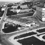 View from Work Square towards Štefánikova Street, 1937